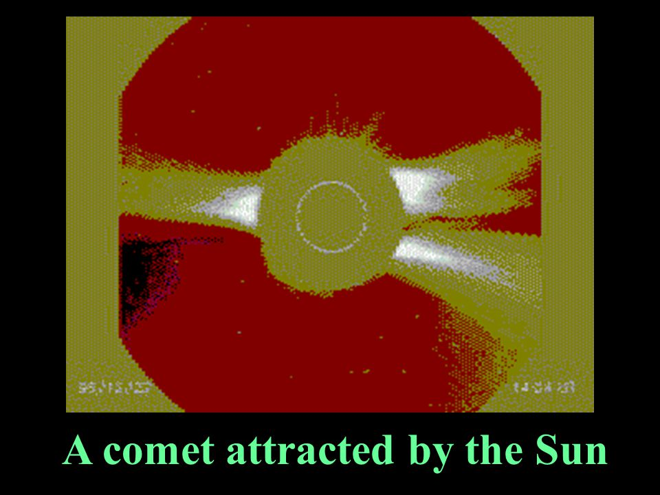 A comet attracted by the Sun