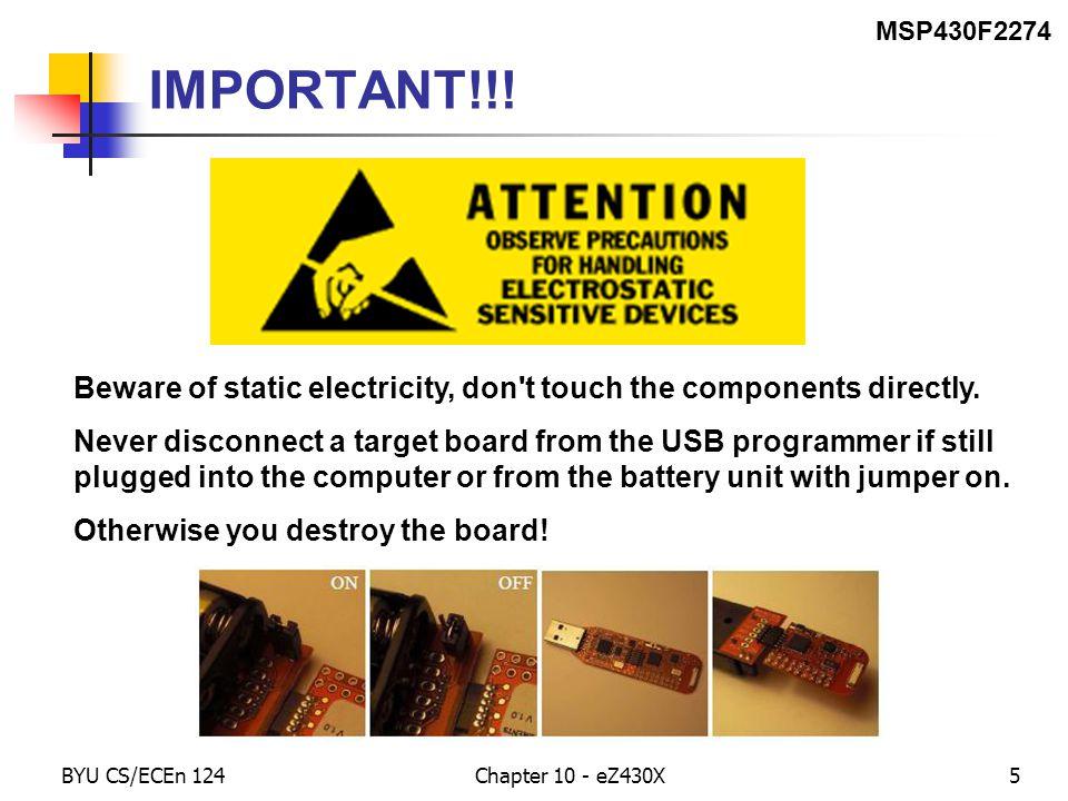 BYU CS/ECEn 124Chapter 10 - eZ430X46 for-loop Translation for-loop int i; for(i=0; i<10; i++) { do_dot(); delay(); do_dash(); delay(); }.bss i,2 ; mov.w #0,&i ; fl_ck: cmp.w #10,&i ; jge for_done ; call #do_dot ; call #delay ; call #do_dash ; call #delay ; add.w #1,&i ; jmp fl_ck ; for_done: ; Coding Assembler
