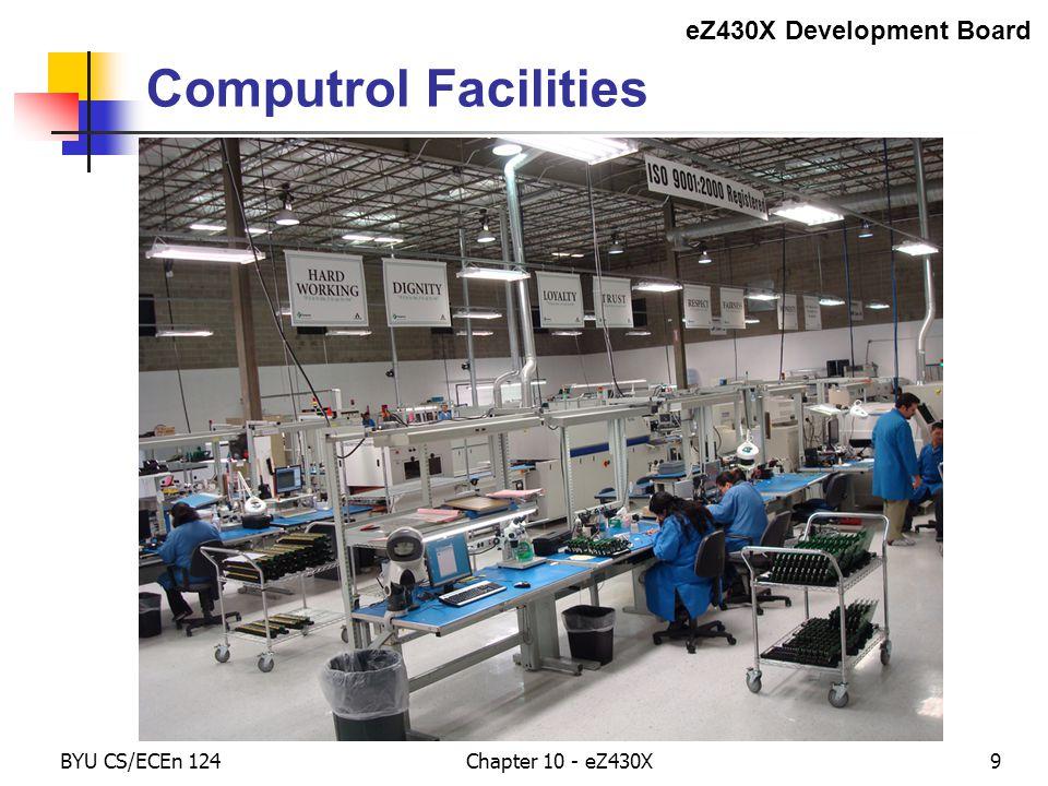 BYU CS/ECEn 124Chapter 10 - eZ430X10 Printed Circuit Boards eZ430X Development Board