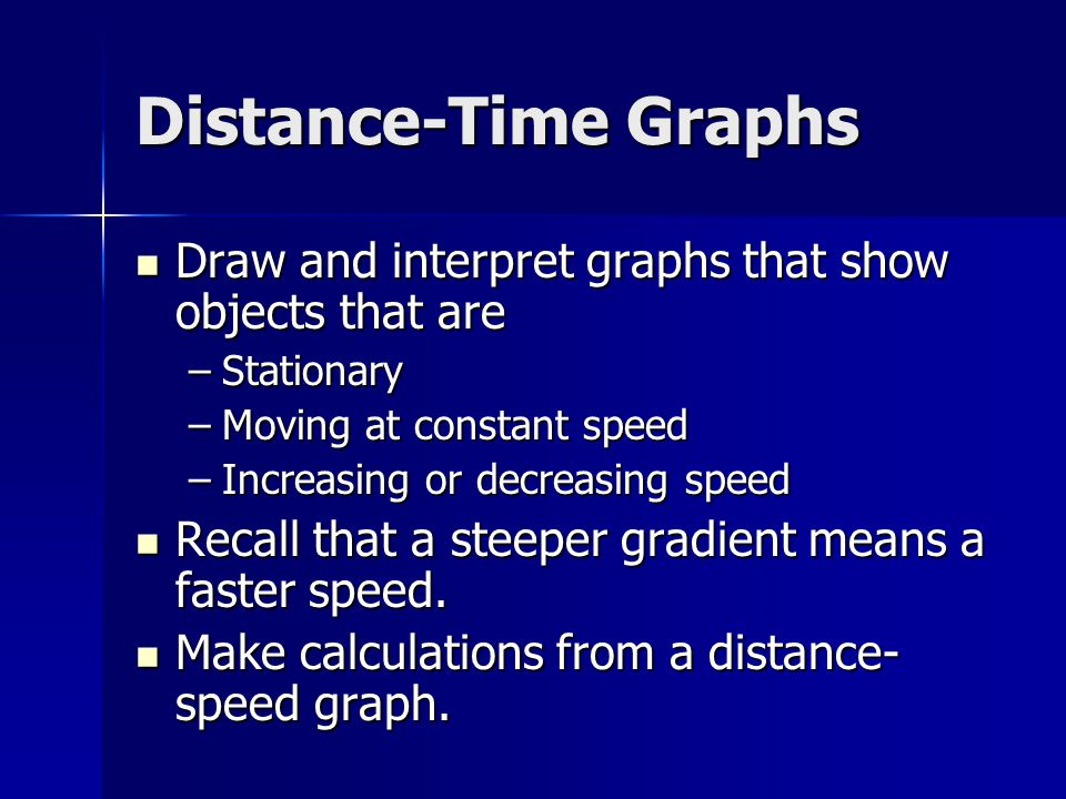 Velocity-Time Graphs Recall that velocity is speed with an indication of direction.