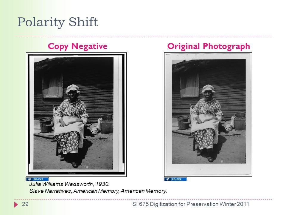 Polarity Shift Copy Negative Original Photograph Julia Williams Wadsworth, 1930.