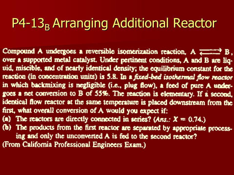 P4-13 B Arranging Additional Reactor