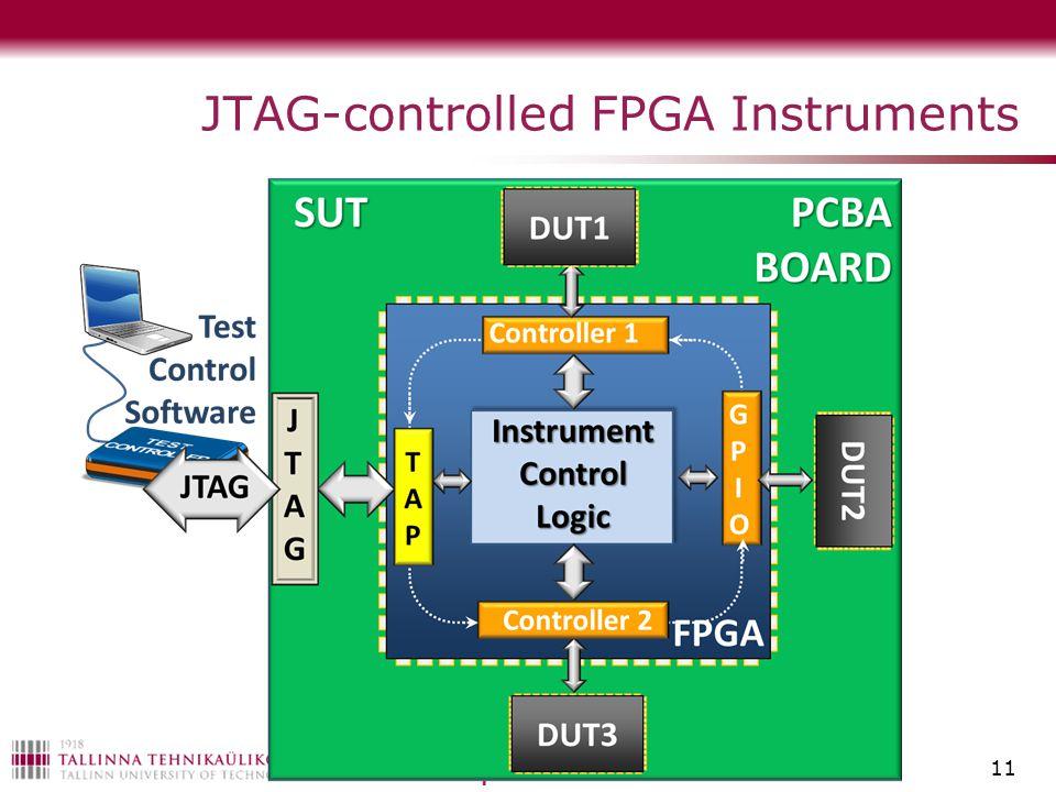 JTAG-controlled FPGA Instruments 11