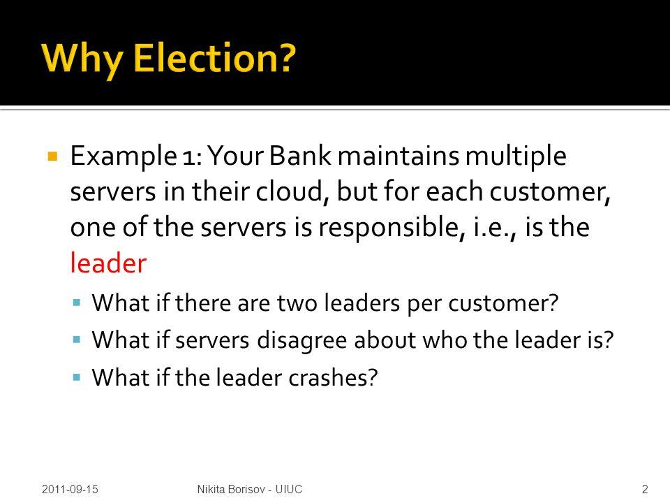  Election: 2 Election: 2, 3,4,0,1 Election: 2,3,4 Election: 2,3 Coord(4): 2 Coord(4): 2,3 Coord(4) 2, 3,0,1 Election: 2 Election: 2,3 Election: 2,3,0 Election: 2, 3,0,1 Coord(3): 2 Coord(3): 2,3 Coord(3): 2,3,0 Coord(3): 2, 3,0,1 P1 P2 P3 P4 P0 P5 1.