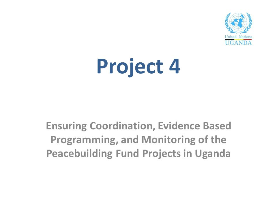Overview Funding: 719,735 USD Timeframe: 01 November 2010 – 31 December 2012 (Operational closure)/31 March 2013 (Financial closure) Objectives: Improved coordination, communications and resource mobilization Enhanced joint monitoring and evaluation (M&E) systems and tools