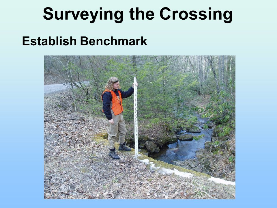 Surveying the Crossing Establish Benchmark
