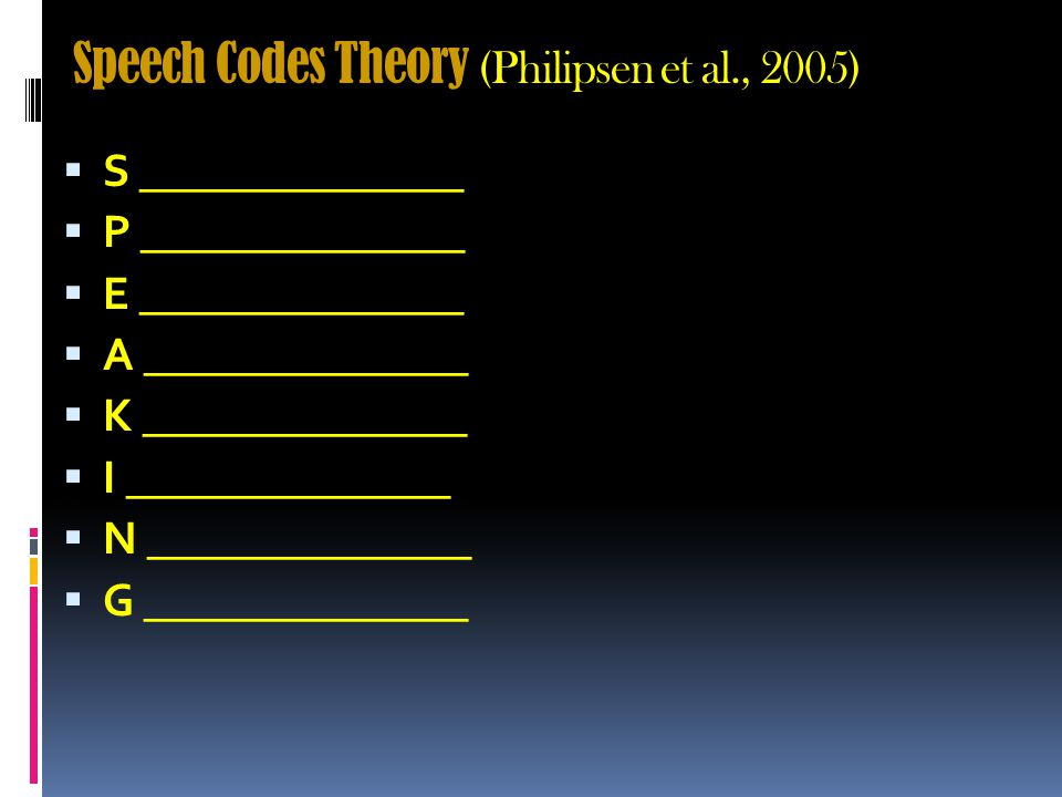 Codes (p. 57)  Constructs created by researchers to….
