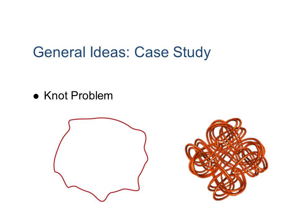 General Ideas: Case Study Knot Problem