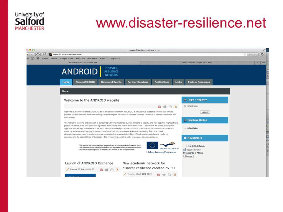www.disaster-resilience.net