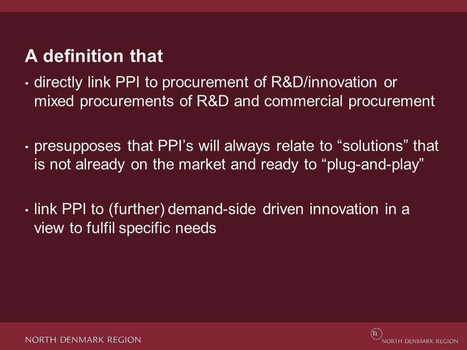 'Innovation ' Directive 2014/24/EU (Procurement directive) Article 2, no.