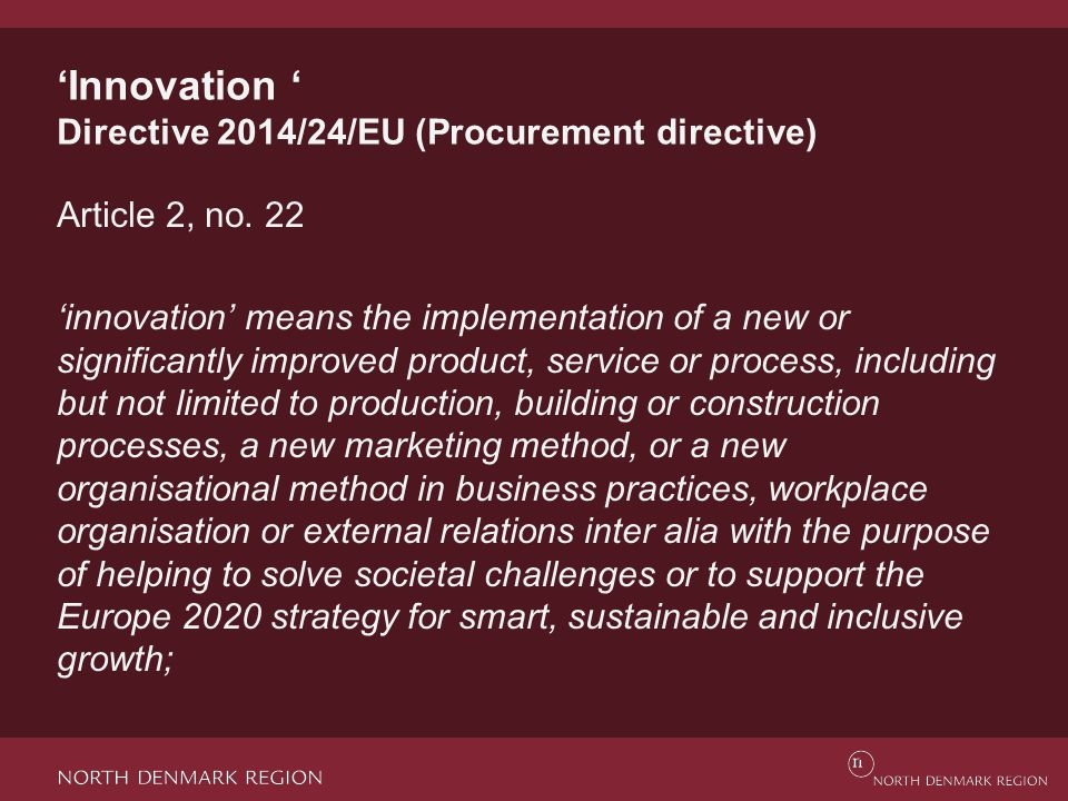 Functional requirements Design the technical specifications with the aim of allowing innovation, efficiency improvement, and new ways of thinking – open specifications Requires focus on the evaluation criteria vs.