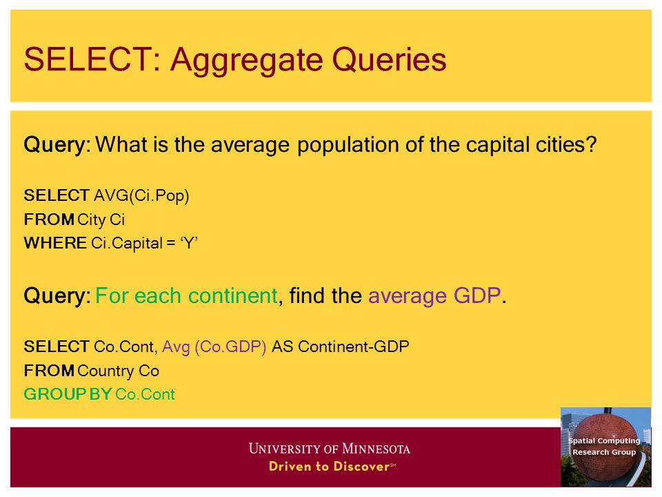 SELECT: Aggregate Queries Query: What is the average population of the capital cities.