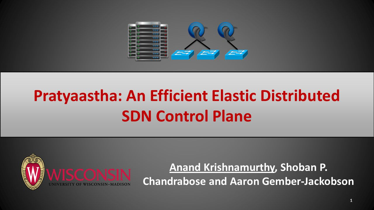 SDN Control Plane Operator goals: 1.Better Performance – Minimizing flow setup latency 2.Lower Operating Cost – Efficient controller resource allocation 2 SummaryEvaluationArchitecture Motivation