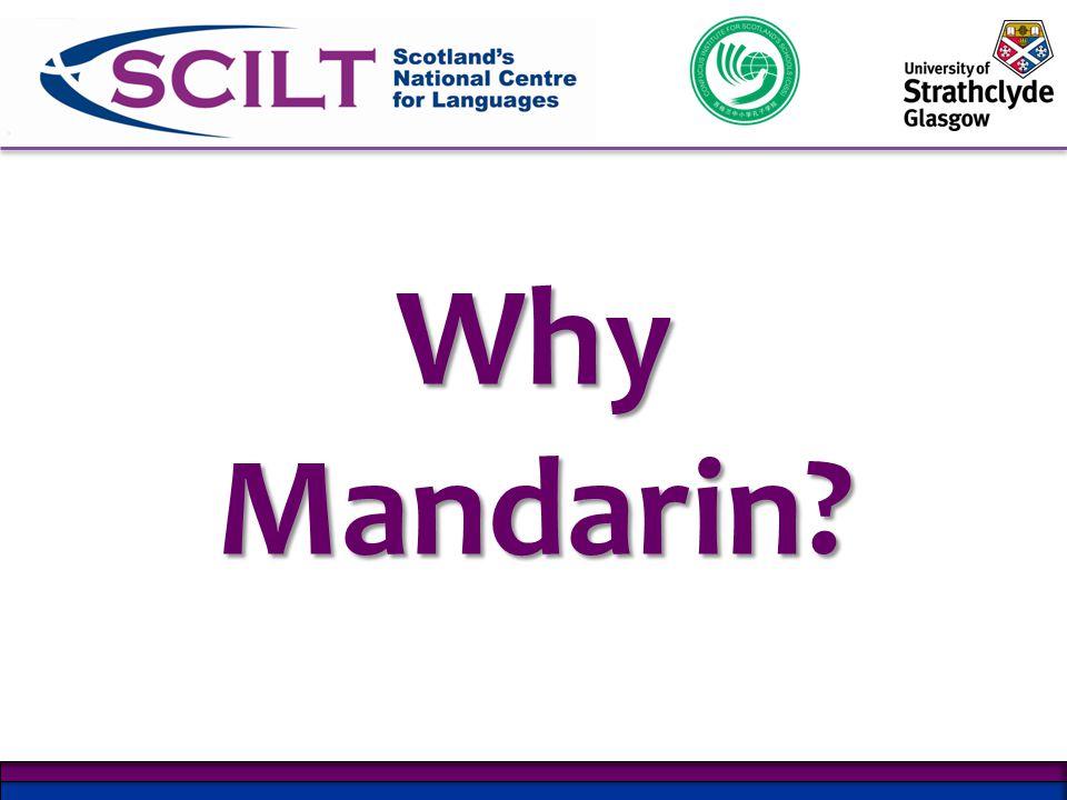 Why Mandarin