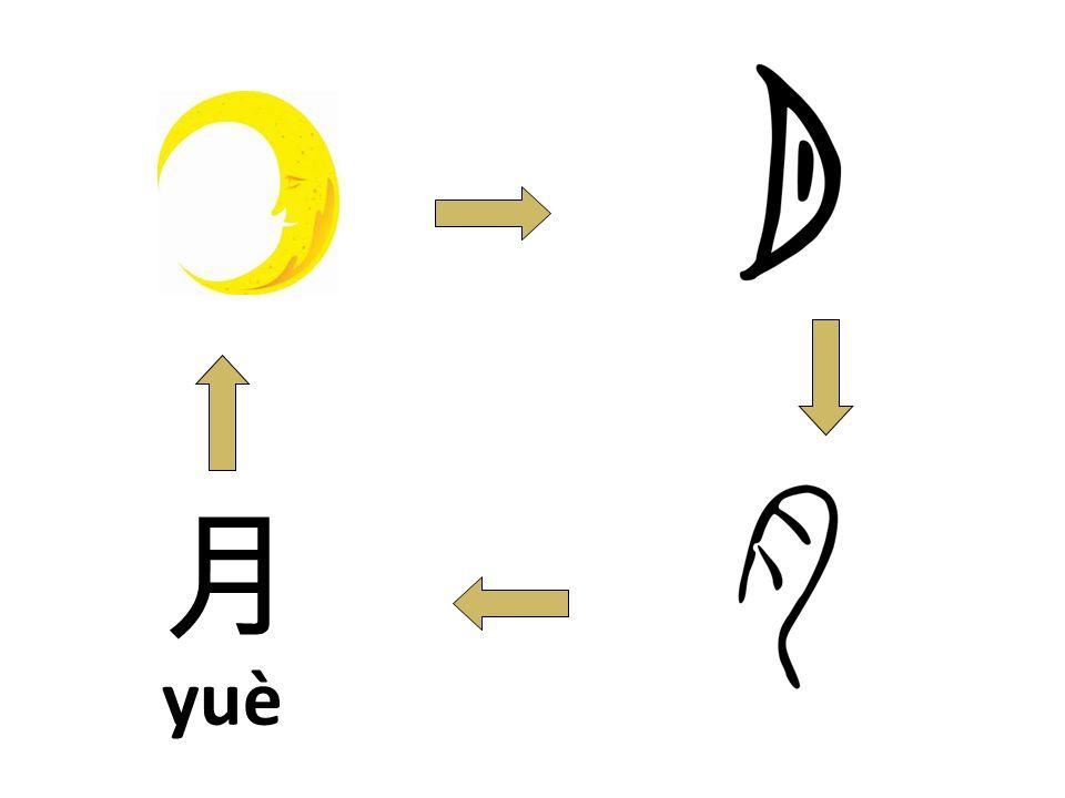 yuè 月