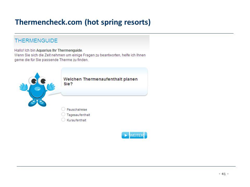 - 41 - Thermencheck.com (hot spring resorts)