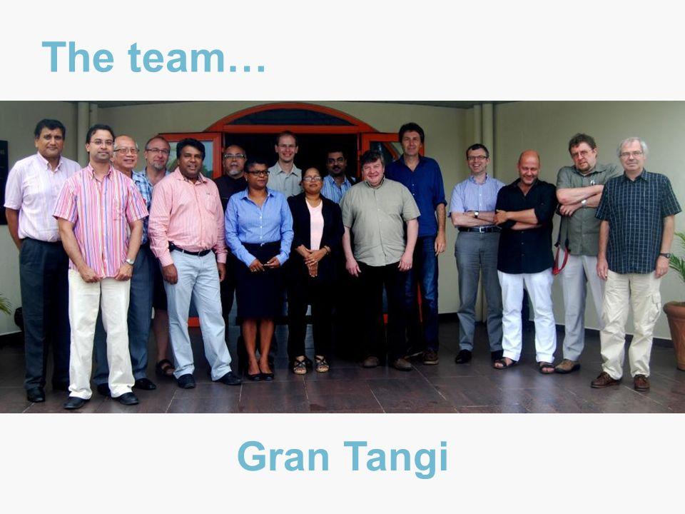 The team… Gran Tangi