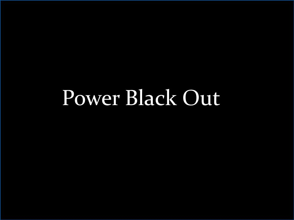 Power Black Out