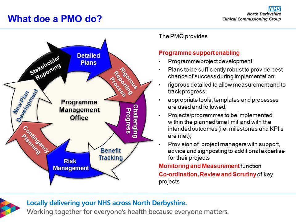 What doe a PMO do.