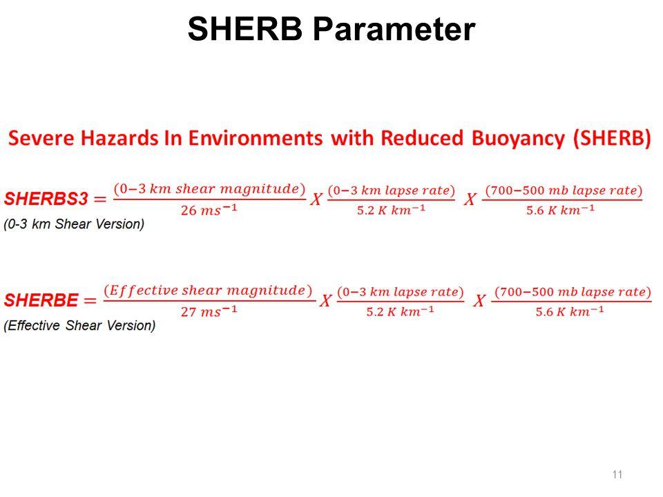 11 SHERB Parameter