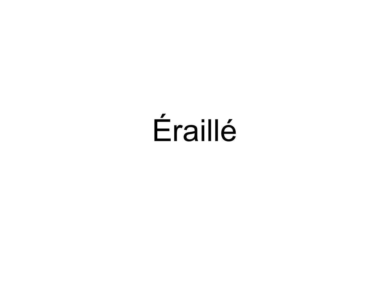 Éraillé