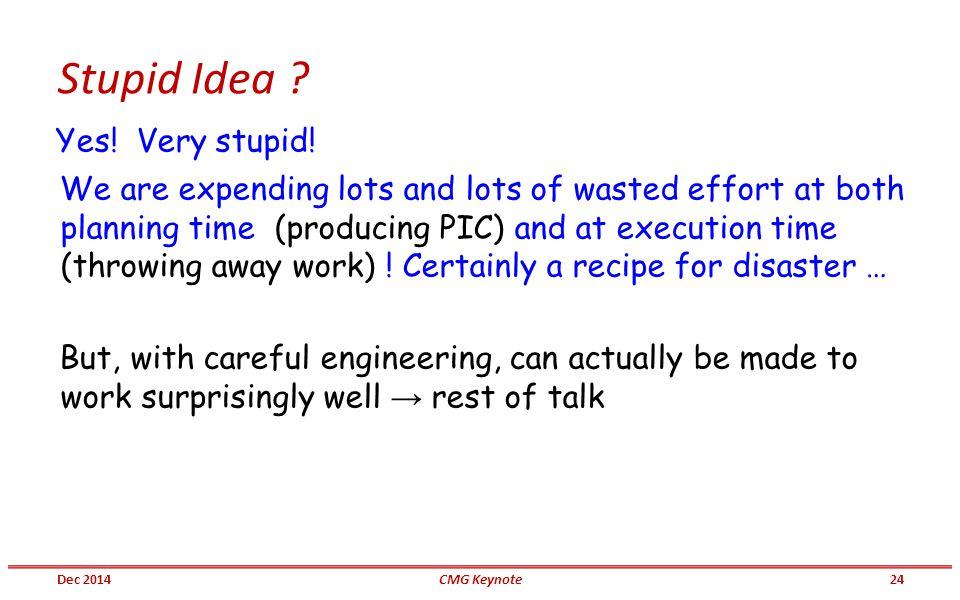 Stupid Idea . Yes. Very stupid.