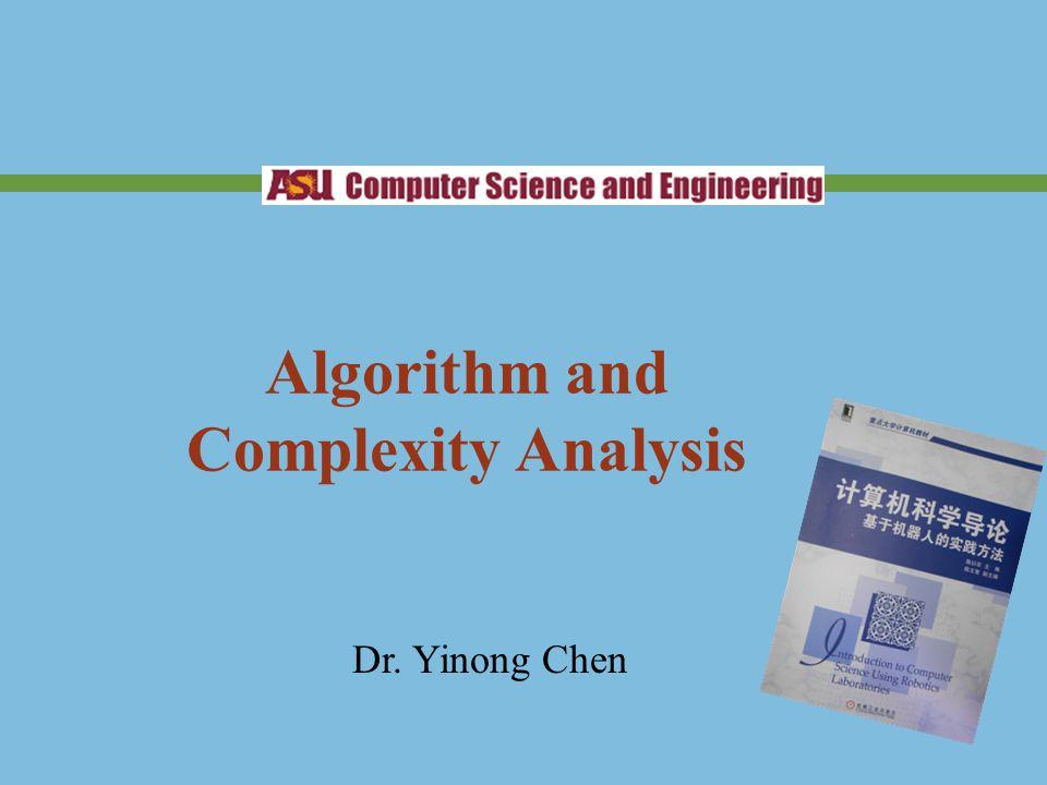 Roadmap The Concept of Algorithms Algorithm Primitives Algorithm Complexity Examples of Algorithms Robotics Algorithms 2