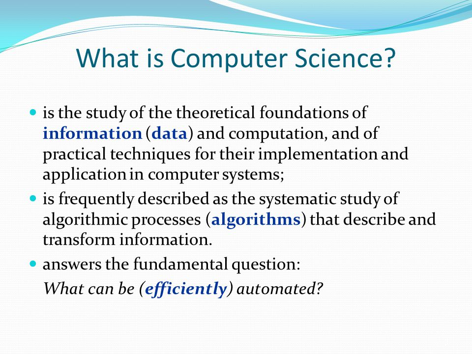 Definition of Algorithms An algorithm is an ordered set of unambiguous, steps (primitives) that defines a terminating process.