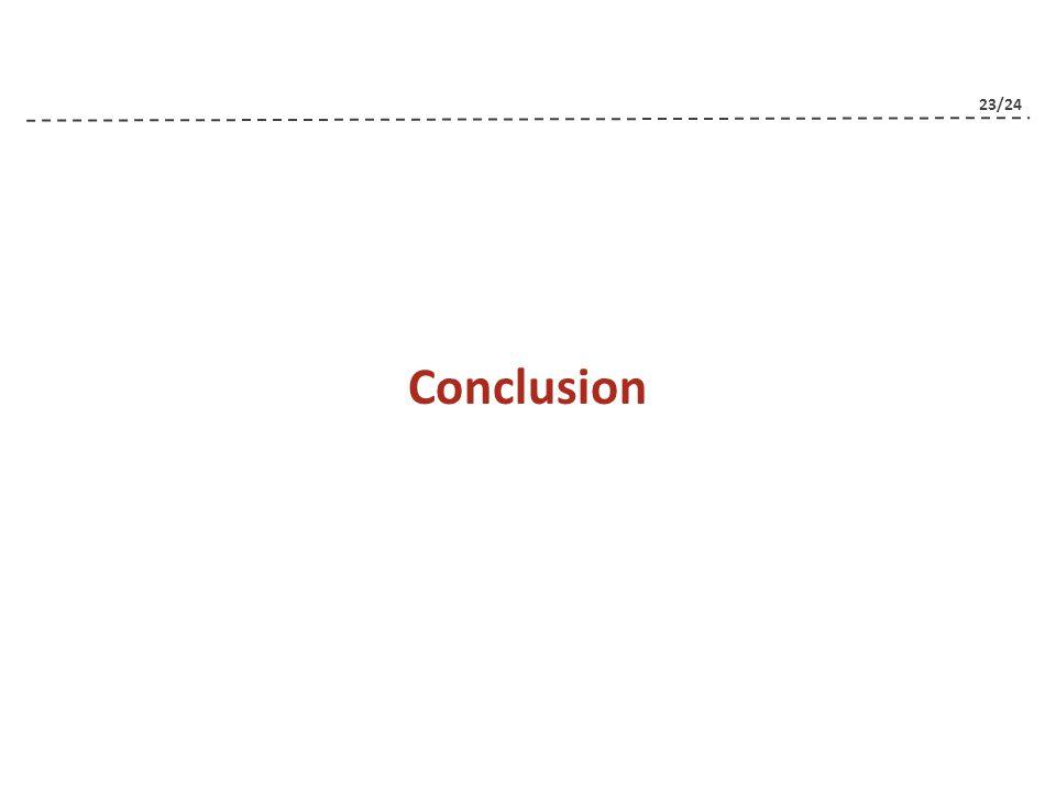 23/24 Conclusion