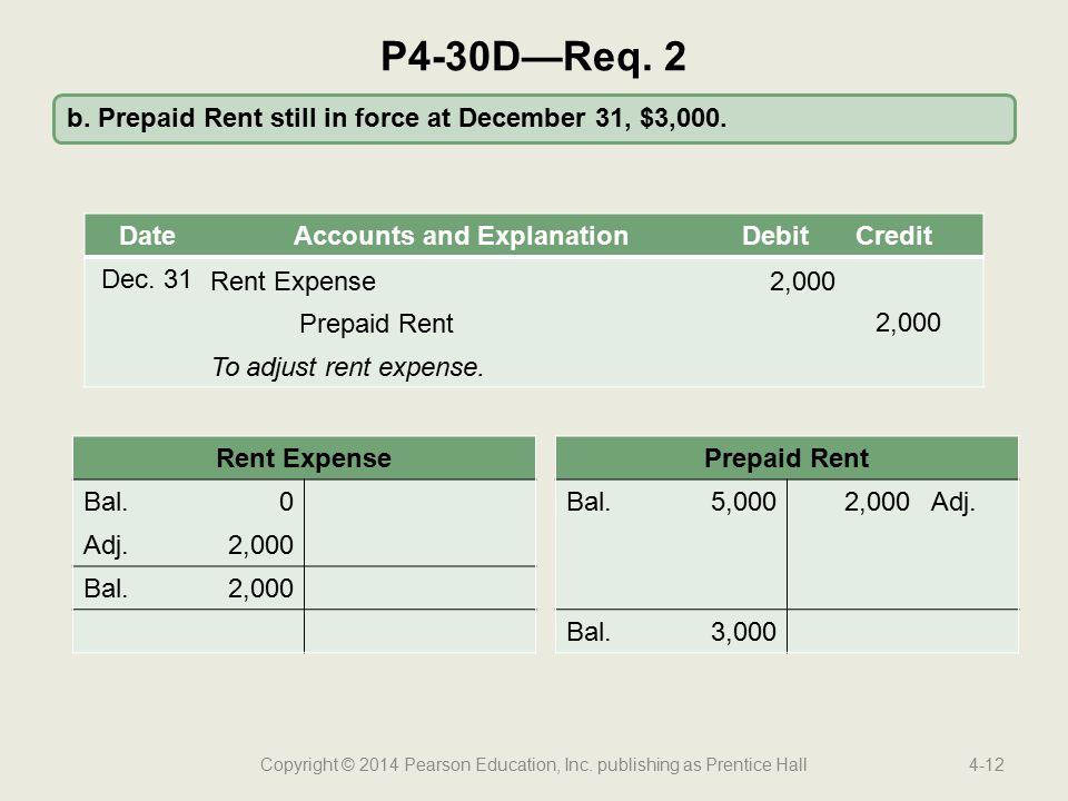 Copyright © 2014 Pearson Education, Inc. publishing as Prentice Hall4-12 b.