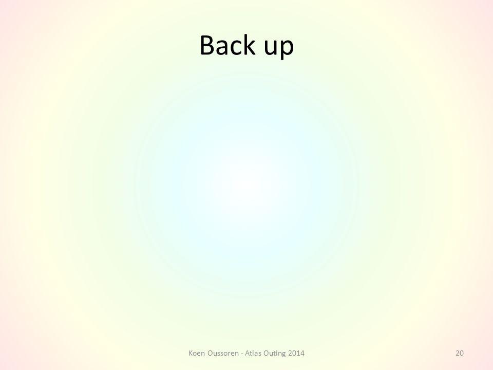 Back up Koen Oussoren - Atlas Outing 201420