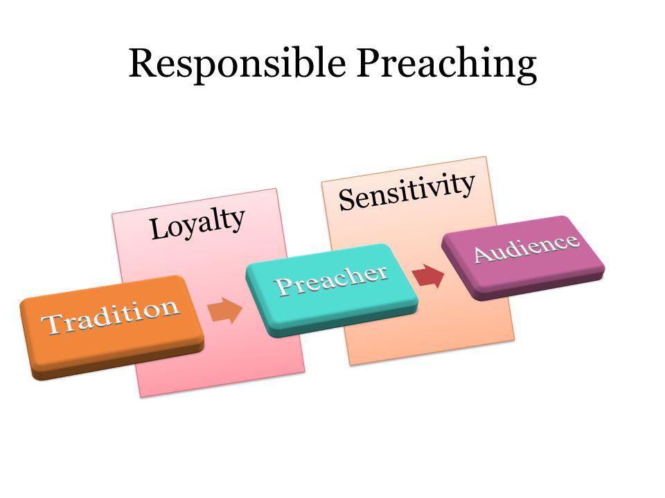 Loyalty Sensitivity Responsible Preaching