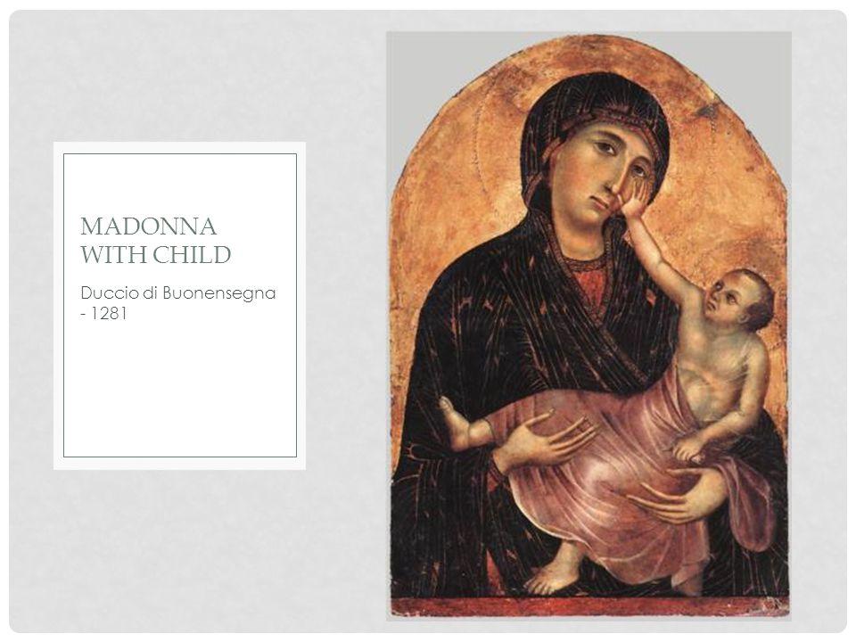 Giotto di Bondone - 1320 MADONNA WITH CHILD