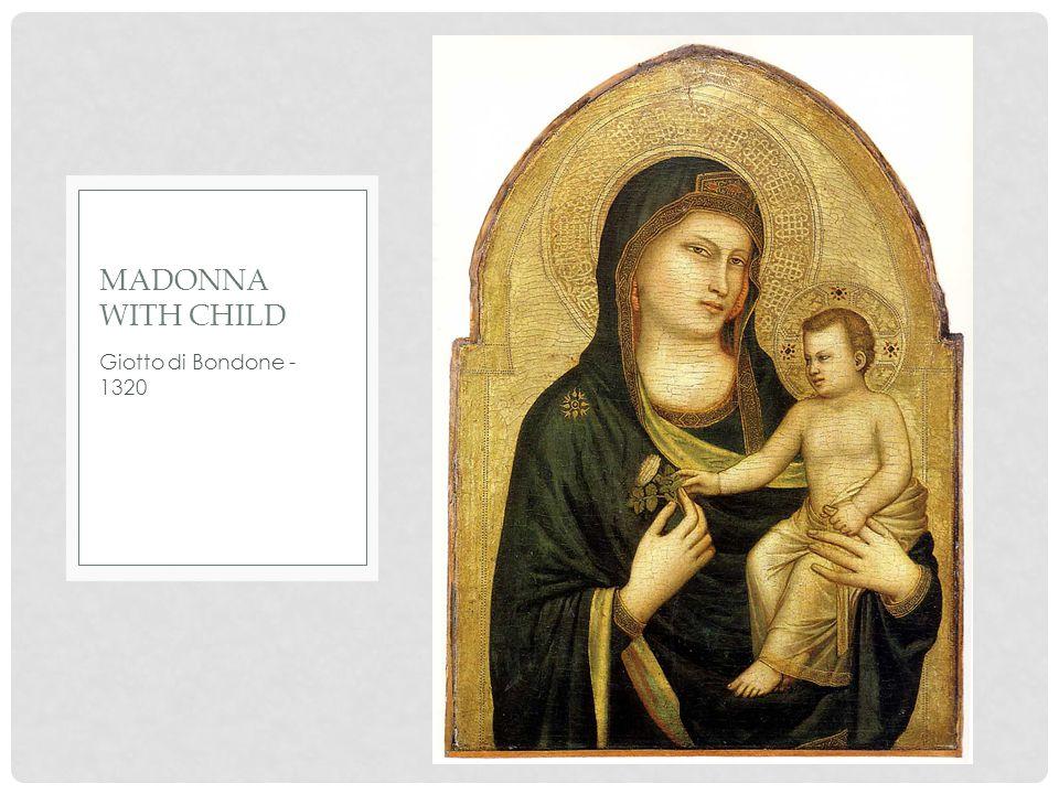 Sandro Botticelli- 1502 MADONNA WITH CHILD