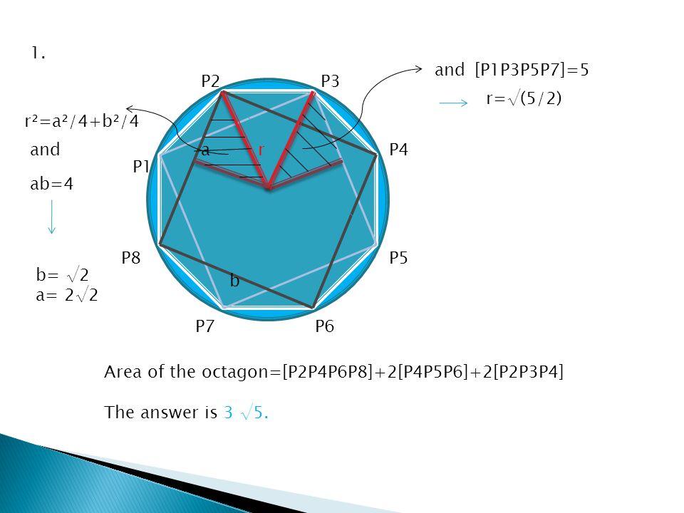 y=ax² x²+(y-1)²=1 2.Assume a>1/2.