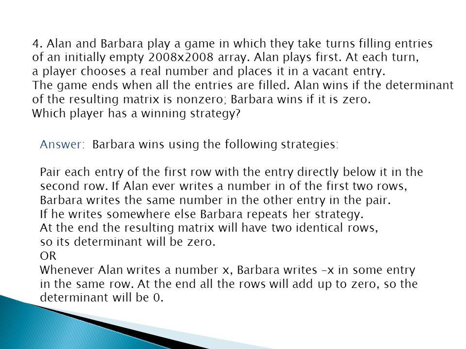 5. Answer: