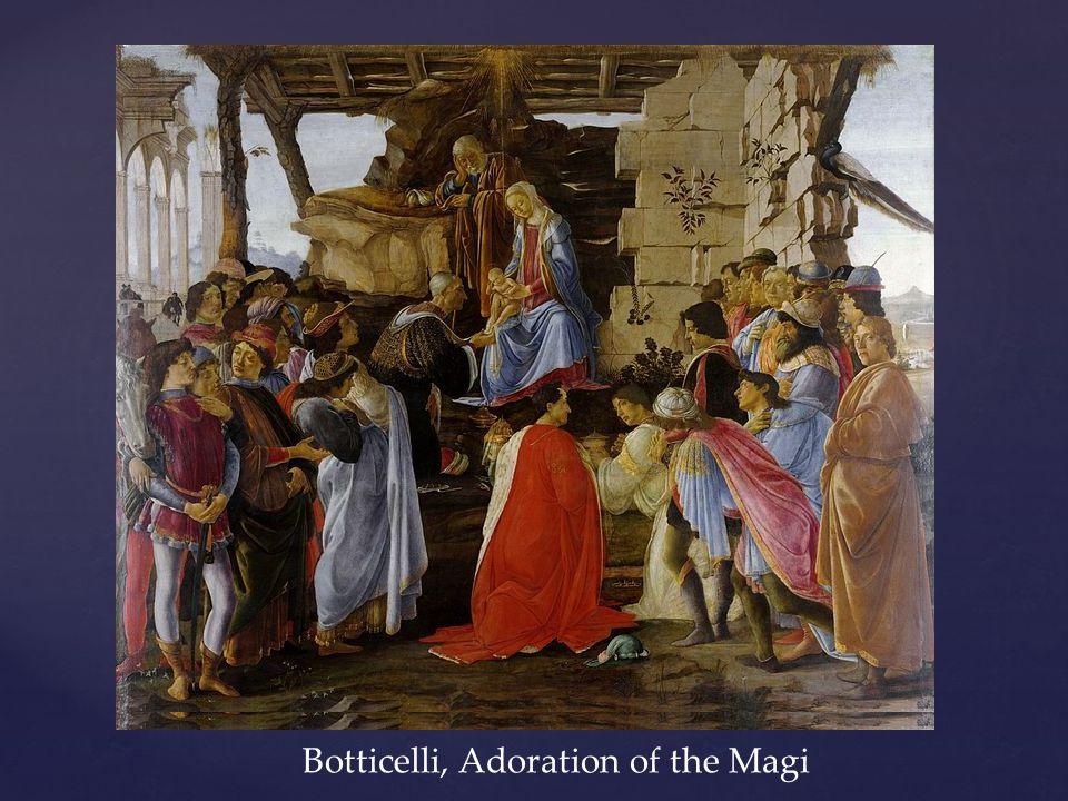 Botticelli, Adoration of the Magi