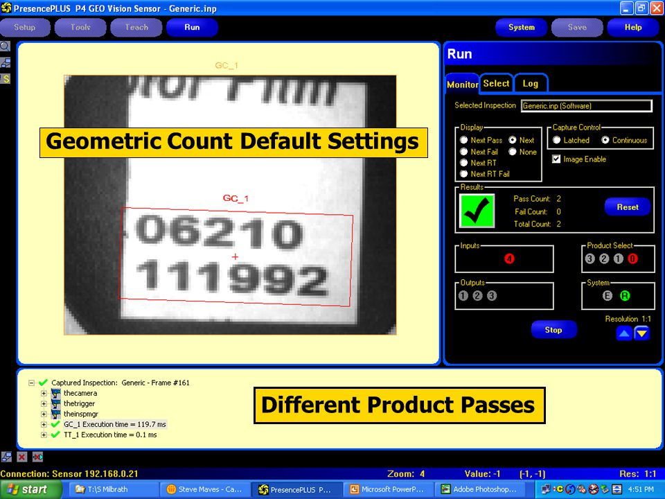 Different Product Passes Geometric Count Default Settings