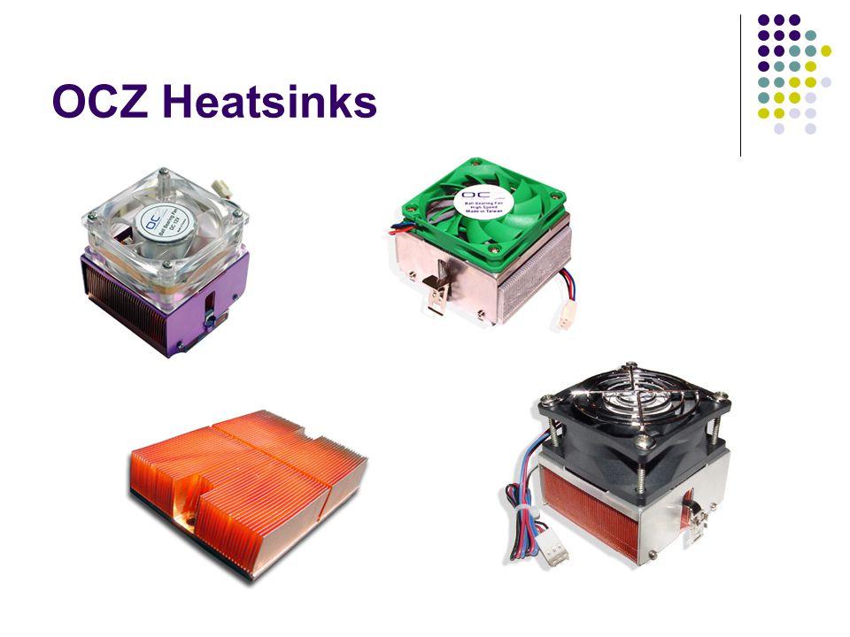 OCZ Heatsink Series AMD Gladiator 3 Gladiator 2 Eliminator K8 Dominator 2 Cu P4 P4 Eliminator Active