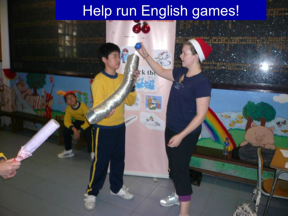 QH6 Help run English games!