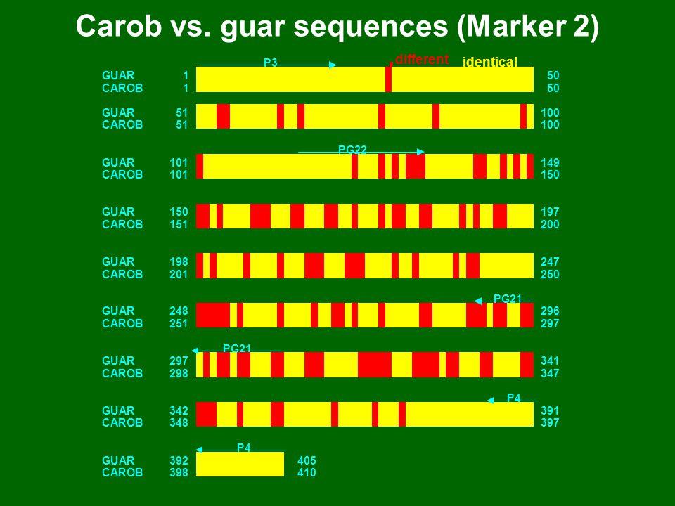 Carob vs.