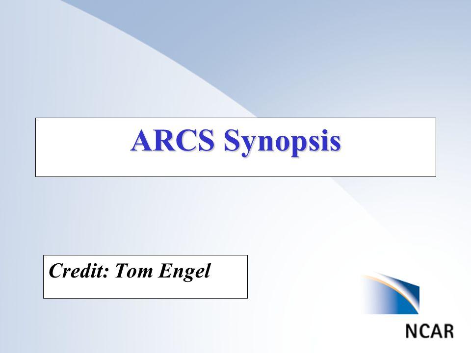 ARCS Synopsis Credit: Tom Engel