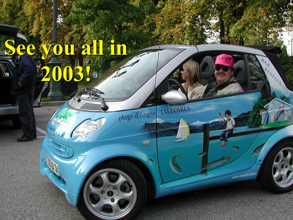 See you all in 2003!