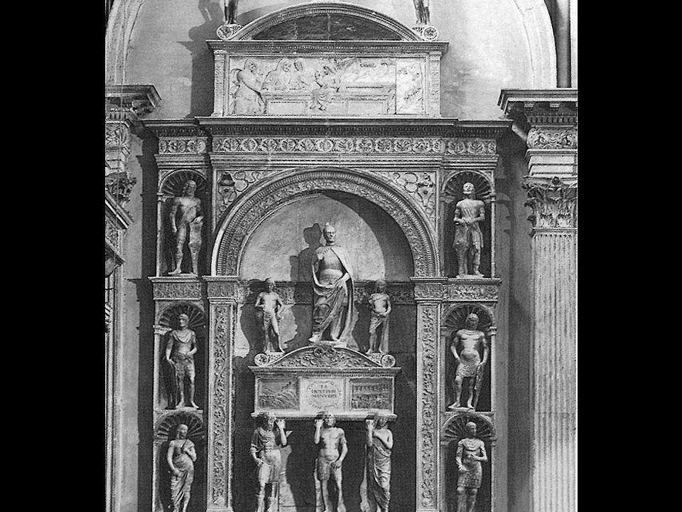Pietro Lombardo Tomb of Doge Pietro Mocenigo, Detail of Relief: Three Marys at the Tomb