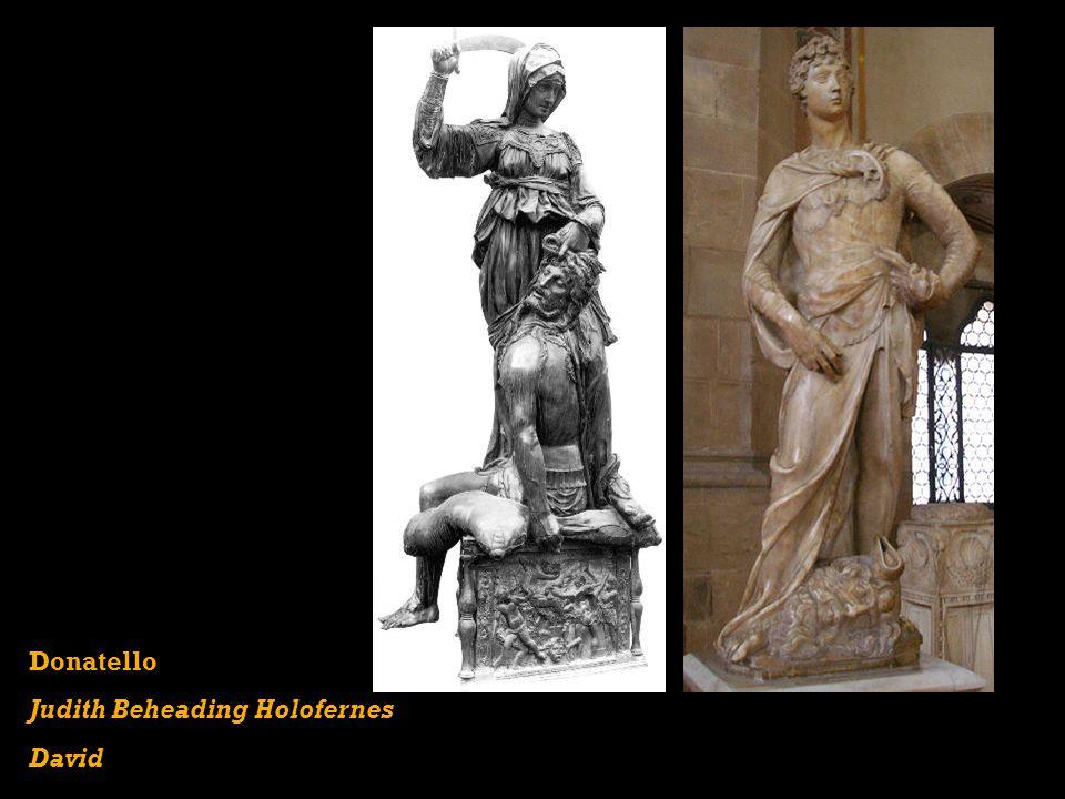 Donatello Judith Beheading Holofernes David