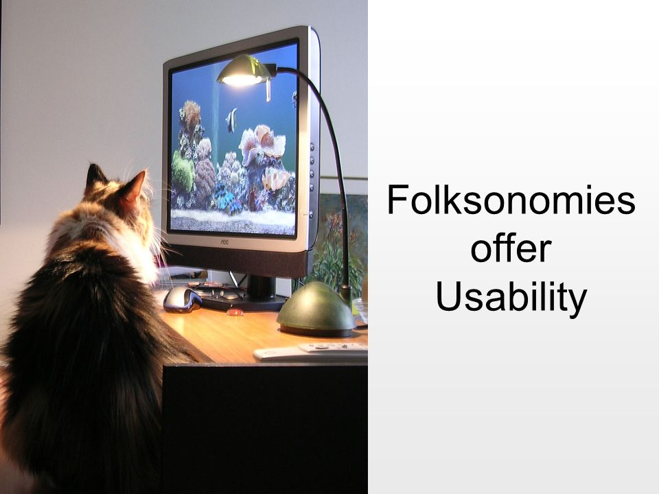 Folksonomies offer Usability