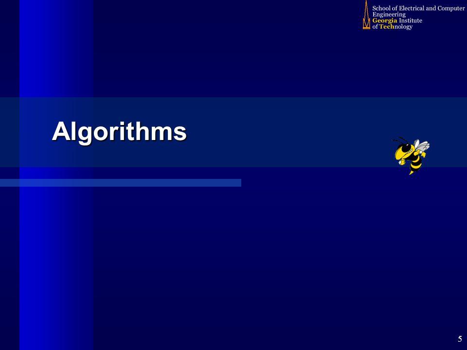 5 Algorithms