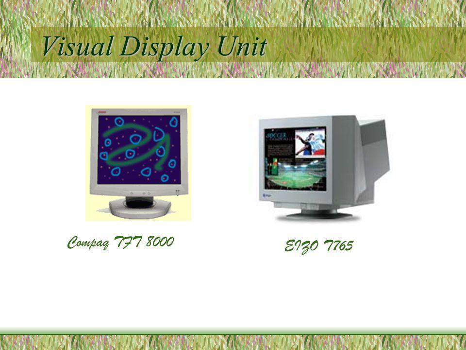 Visual Display Unit Compaq TFT 8000 EIZO T765
