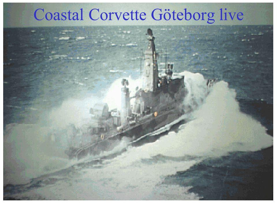 3 Coastal Corvette Göteborg live