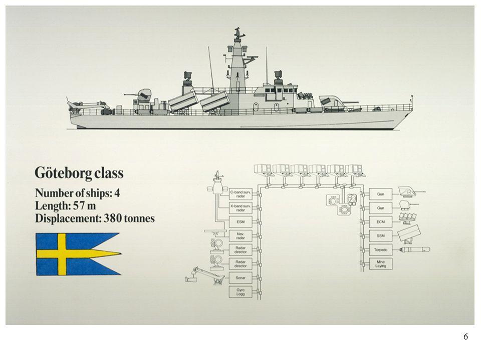 6 Göteborg class